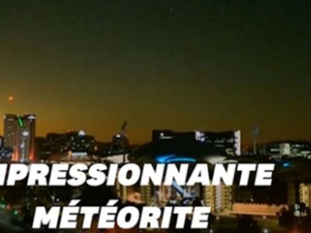 Une météorite a illuminé le ciel dans le sud de l'Australie