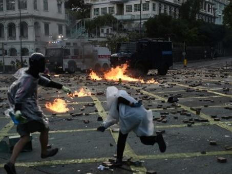 A Hong Kong, dans le bastion assiégé des protestataires