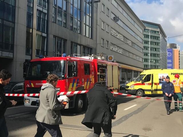 Alerte à la bombe, 40 personnes évacuées dans le quartier européen de Bruxelles