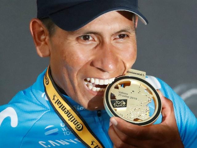 """Quintana: """"La stratégie ? Il faut poser la question à mon directeur sportif"""""""