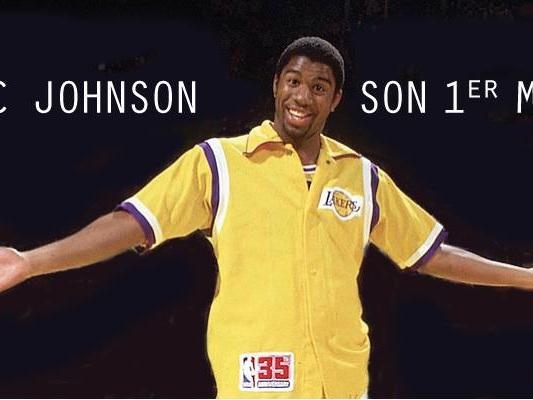 Le premier match NBA de Magic Johnson en 1979