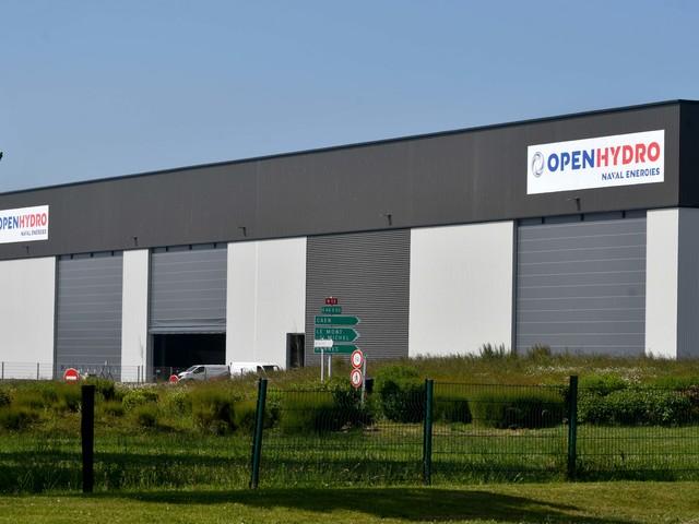 A Cherbourg, Naval Group pourrait reprendre l'atelier d'OpenHydro