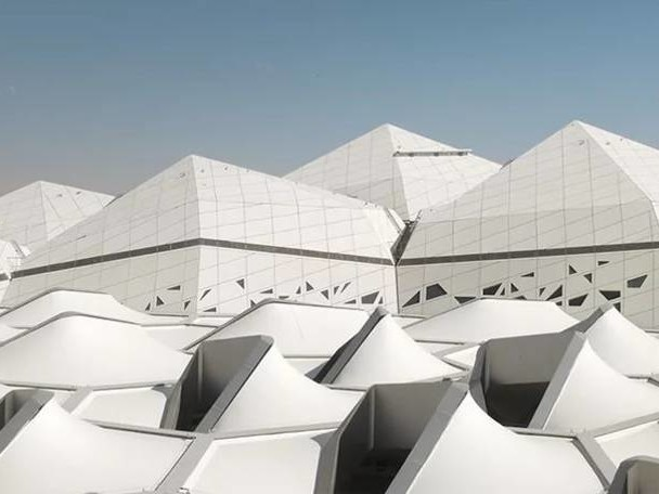 Visit Zaha Hadid's King Abdullah Centre from the Inside