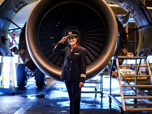 Femmes pilotes: opération séduction dans les collèges