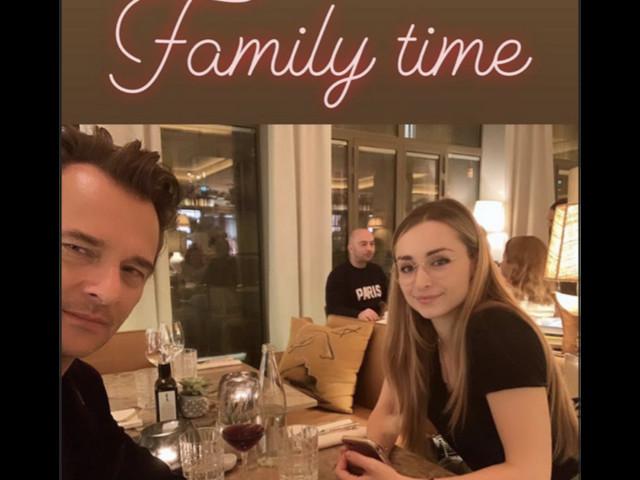 David Hallyday et Emma Smet : Photo intime de leur moment en famille