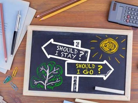 Changer de poste ou changer d'entreprise, comment choisir ?