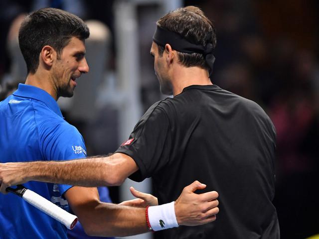 Tennis: Federer bat sa bête noire Djokovic et va en demie du Masters