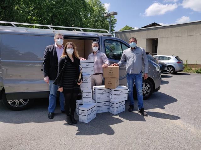 Essonne : un don des gens du voyage à l'hôpital d'Arpajon