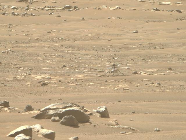 Pour la première fois, l'hélico Ingenuity va atterrir ailleurs sur Mars