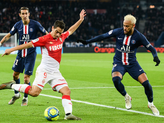 Ligue 1 J20 : l'AS Monaco ramène un point du Parc après un match de gala