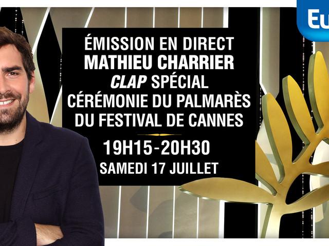 Europe 1, partenaire de CANAL+ pour la clôture du Festival de Cannes
