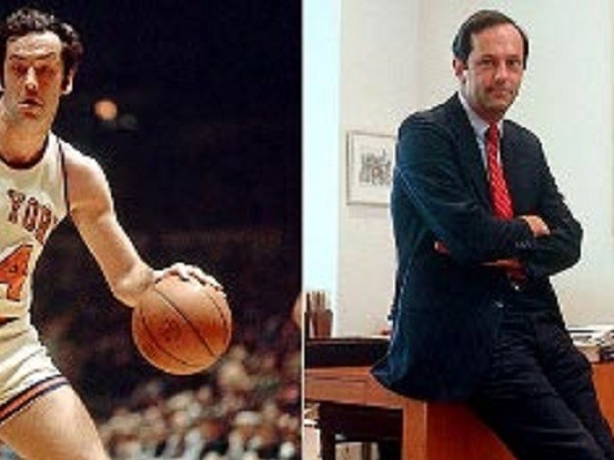 Bill Bradley, un double champion NBA devenu sénateur