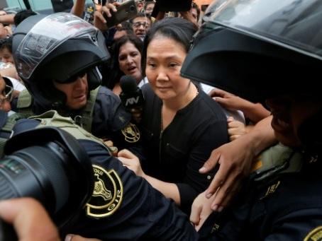 Pérou: la justice ordonne l'incarcération de la cheffe de l'opposition Keiko Fujimori