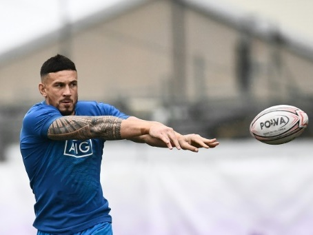 Mondial de rugby: Sonny Bill Williams, le centre d'attraction