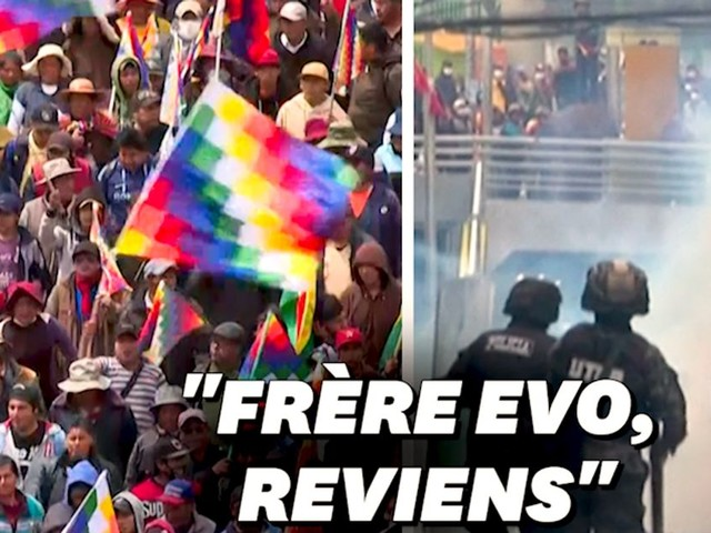 En Bolivie, les pro-Morales manifestent, il est prêt à revenir