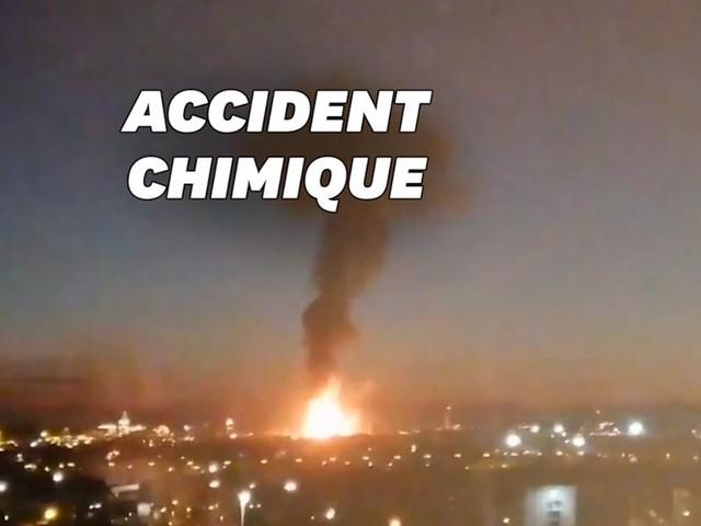 """En Espagne, """"accident chimique"""" sur un site industriel"""