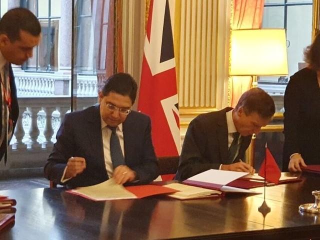 Brexit: le Maroc et le Royaume-Uni signent un accord d'association