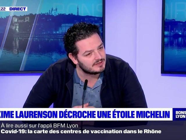 """Guide Michelin: une """"drôle d'année"""" pour le chef du Rustique, heureux de """"ramener à Lyon"""" une étoile"""