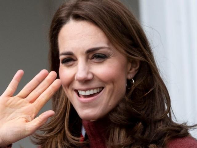 Kate Middleton rayonne dans un total look bleu qu'on lui connaît déjà !