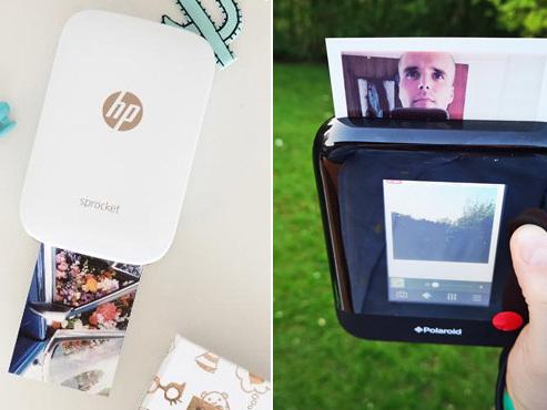 """Imprimer ses photos soi-même, la nouvelle tendance: on a testé """"la plus petite"""" imprimante portable pour smartphone et un étrange Polaroid"""