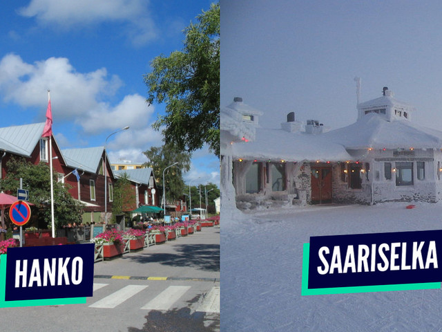 Top 10 des plus beaux villages de Finlande, vive le vent d'hiver
