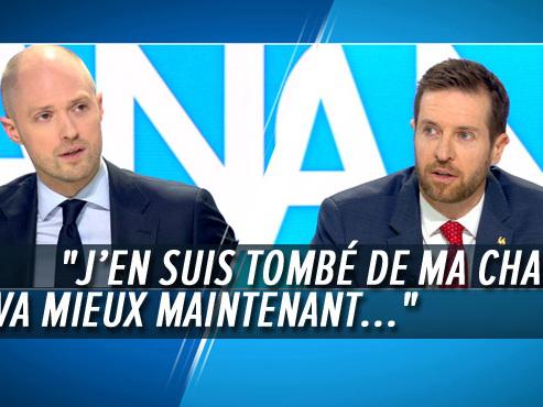 """PS et MR s'écharpent sur la """"Belgique unitariste"""" de Georges-Louis Bouchez: """"Bon, allez..."""" (vidéo)"""