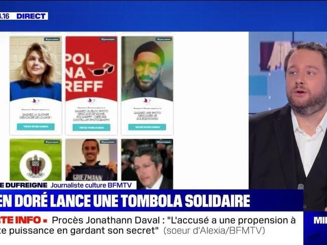 Julien Doré lance une tombola solidaire - 19/11