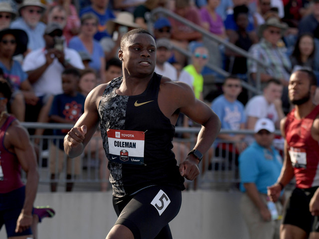 Athlétisme - Blanchi par l'Usada, Christian Coleman verra bien Doha