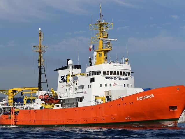 Migrants : un port français pour l'Aquarius ?