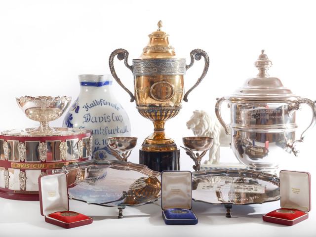 La vente des trophées de Boris Becker, endetté, rapporte 765.000 euros