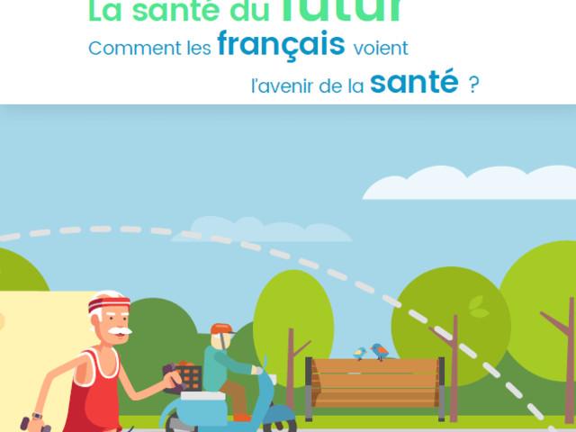 Infographie : les Français et la santé du futur