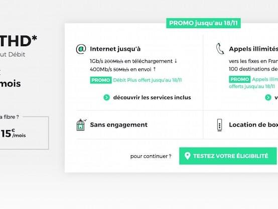 Profitez d'une connexion internet fibre pas chère avec l'offre RED by SFR à 22€