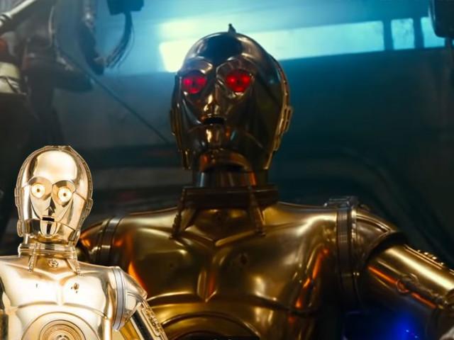 Star Wars Episode IX : on en sait un peu plus sur les yeux rouges de C-3PO
