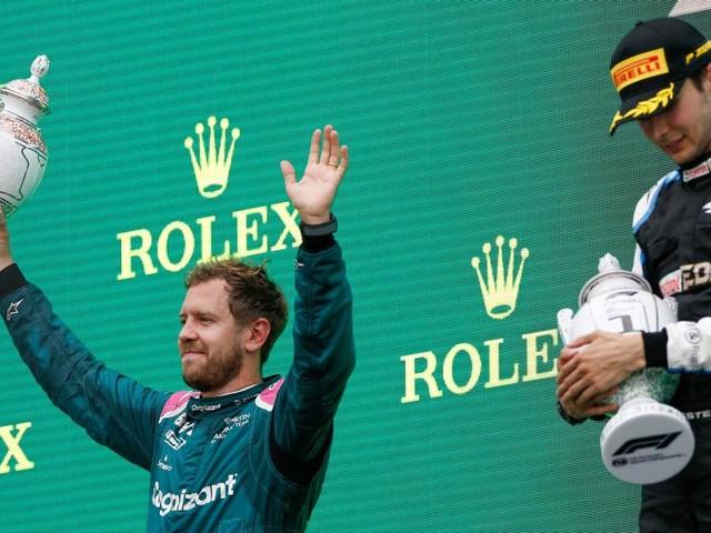 Grand Prix de Hongrie de F1 - Sebastian Vettel perd sa 2e place