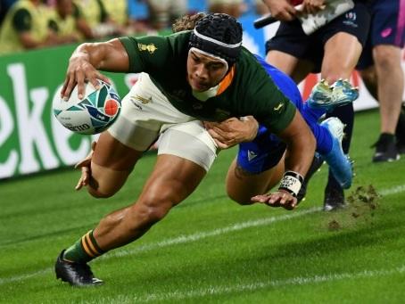 Mondial de rugby: Cheslin Kolbe, la dynamite sud-africaine est de retour