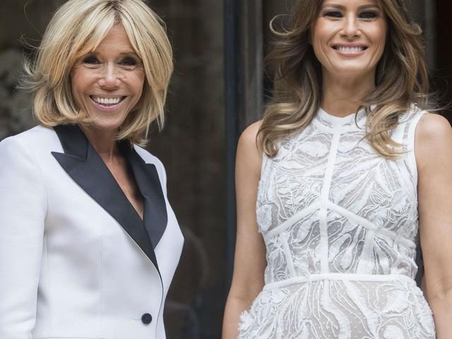 Brigitte Macron vs. Melania Trump : qui remporte le match du style en Belgique ?