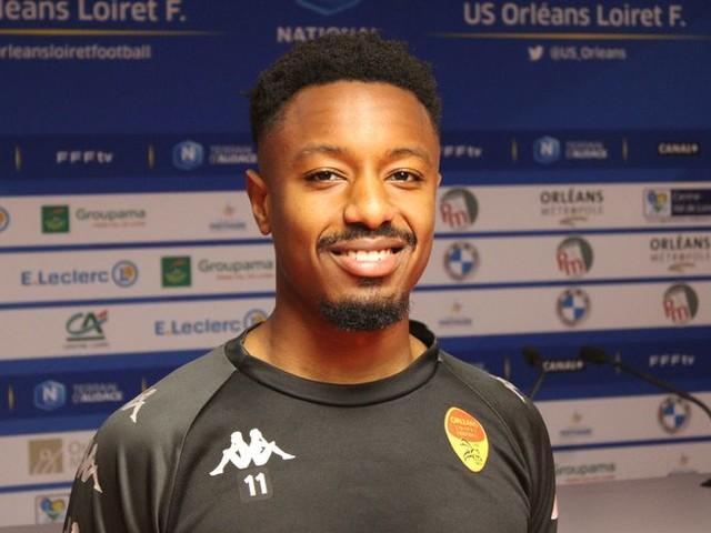 """National : """"On a la chance de laver notre erreur"""" face à Sète estime Tidiane Keita, le milieu de l'US Orléans"""