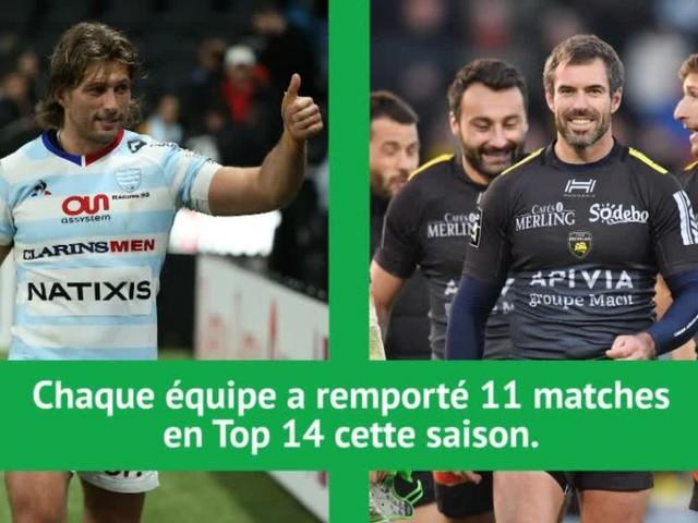 Rugby - Top 14 - 17e j. - Racing 92 vs. La Rochelle, deux prétendants au Bouclier de Brennus