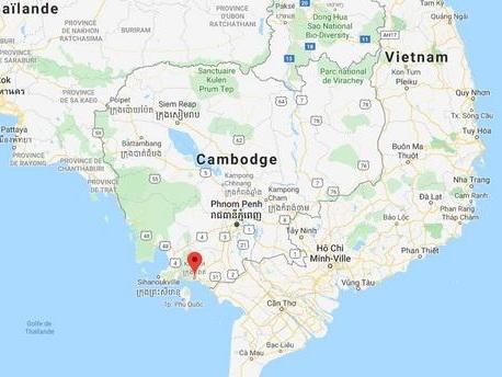 Une touriste française violée au Cambodge, trois hommes inculpés après avoir avoué