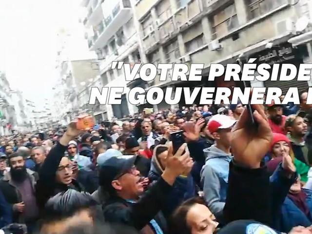 Tebboune élu en Algérie, une marée humaine dans les rues d'Alger