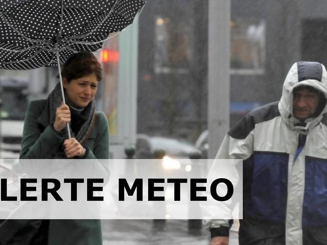 Alerte météo: des précipitations abondantes attendues sur le sud du pays ce dimanche après-midi!