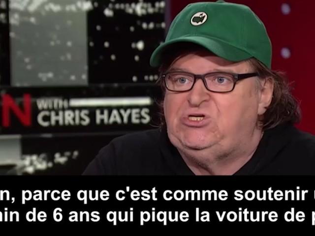 Michael Moore a un regarde assez piquant sur les 100 premiers jours de Trump