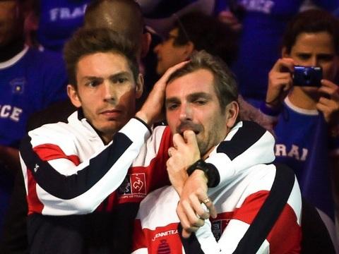 Coupe Davis: Après avoir vécu le pire, Mahut et Benneteau espèrent vivre le meilleur au stade Pierre Mauroy