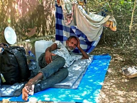 Dans un camp soudanais, chaque réfugié éthiopien traîne une histoire tragique