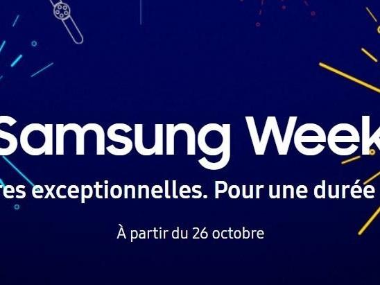 Samsung Week : de nouvelles promotions exceptionnelles sur les smartphones avec des cadeaux offerts