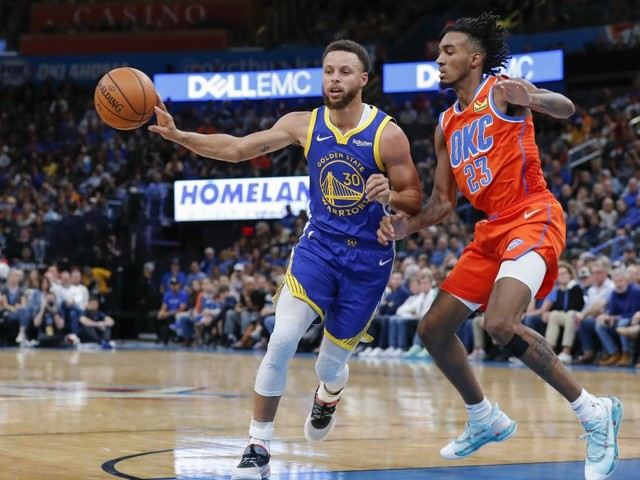 Golden State coule à OKC…