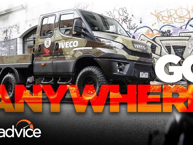 The world's best off-roader? Iveco Daily 4x4   CarAdvice - YouTube