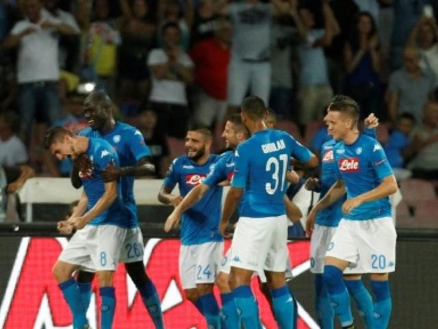 Ligue des champions: Nice débordé par Naples en barrages