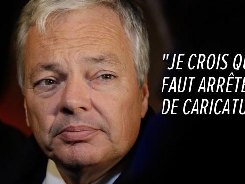 """Pour Didier Reynders, la N-VA n'est """"pas un parti extrémiste"""", au contraire du Vlaams Belang et du PTB"""