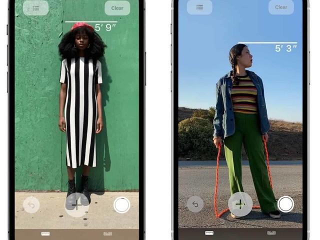 Le scanner LiDAR des iPhone 12 Pro peut mesurer la taille d'une personne